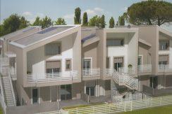 Appartamento nuovo con giardino in vendita a Pinarella
